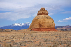 Church Rock Sandstone Formation Royalty Free Stock Images