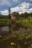 Church in Rocky Mountains Stock Photography