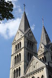 Church in Roermond, The Netherlands. Pic of a church in roermond, the netherlands on sunny day royalty free stock photo
