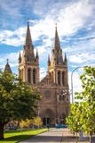 Church in Roman Catholicism. In Sydney Australia royalty free stock images