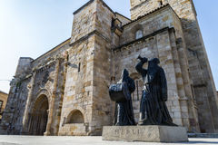 Church Romanesque Zamora Stock Photo