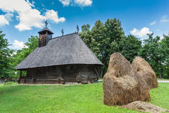 Church from Romania. Bucharest Village Museum Royalty Free Stock Photo