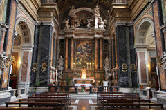 Church in Rome, Italy Royalty Free Stock Image