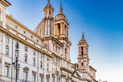 Church in Rome, St Agnes Stock Photo