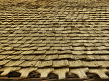 Church roof. The roof of a wooden church Stock Images