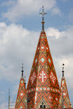 Church roof Royalty Free Stock Photos