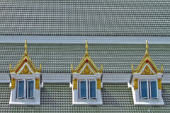 Church roof Stock Image