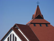 Church Roof Royalty Free Stock Photography