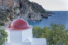 Free Church Roof In Kira Panagia, Karpathos, Greece Stock Photos - 42037303