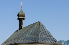 Church roof in Tirol Royalty Free Stock Photography