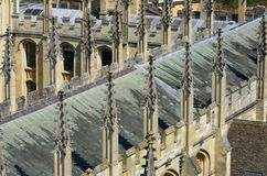 Church Roof tops Oxford Stock Image