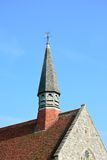 Church roof and tower Royalty Free Stock Photo