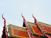 Church roofs Royalty Free Stock Images