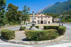 Church of Rosary. Maratea. Basilicata. Italy. Stock Photos