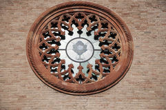 Church rosette Royalty Free Stock Image