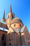 Church in Roskilde Royalty Free Stock Images