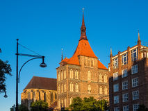 Church in Rostock Royalty Free Stock Photography