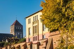 Church in Rostock Stock Photo