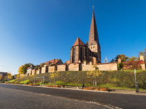 Church in Rostock Royalty Free Stock Images