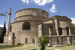 The Church of the Rotonda in Thessaloniki Stock Images
