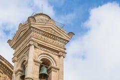 Church Rotunda of Mosta, Malta. Church of the Assumption of Our Lady, known as the Rotunda of Mosta or Rotunda of St Marija Assunta or simply The Mosta Dome Royalty Free Stock Photo