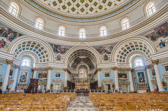 Church Rotunda of Mosta, Malta Stock Photo