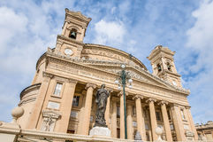 Church Rotunda of Mosta, Malta Royalty Free Stock Image