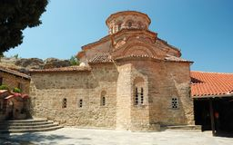 Church of Roussanou monastery,Meteora,Greece Royalty Free Stock Photos