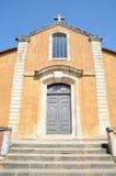 Church in Roussillon Stock Photos