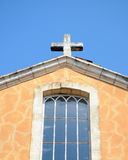 Church in Roussillon Royalty Free Stock Photography