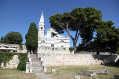 Church in Rovinj, Croatia Royalty Free Stock Photography