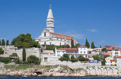 Church of Rovinj Royalty Free Stock Images