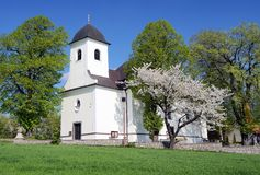 Church in ruda village Royalty Free Stock Photo