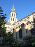 Church of Rueil Malmaison city Royalty Free Stock Photo