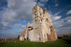 Church ruin Royalty Free Stock Image