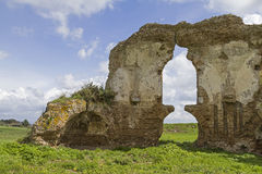 Church ruin in Lazio Stock Image