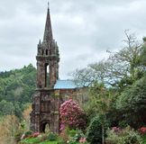 Church ruin at Sao Miguel Island Royalty Free Stock Photos