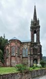 Church ruin at Sao Miguel Island Stock Image