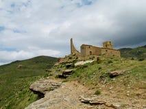Church ruin in Spain Royalty Free Stock Photo