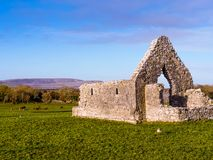 Church ruin in sunny day Stock Image
