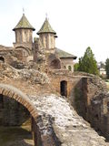 Church Ruins. Curtea Domneasca Ruins Royalty Free Stock Images