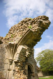 Church Ruins. Glastonbury royalty free stock photos