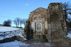 Church ruins Stock Photo