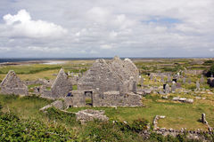Church ruins in Arranmore, Ireland Stock Images