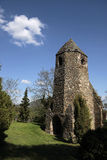 Church ruins of Avesi in Szigliget. At Lake Balaton, Hungary royalty free stock image