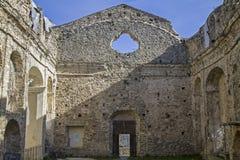 Church ruins in Baiardo Stock Photo