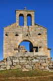 Church ruins in historical village of Castelo Mendo Royalty Free Stock Photo