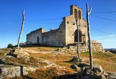Church ruins in historical village of Castelo Mendo Royalty Free Stock Photos