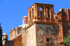 Church ruins I. Church ruins, as part of the zacatecas city, mexico stock photo