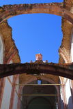 Church in ruins III. Ancient church in ruins, zacatecas city, mexico royalty free stock image